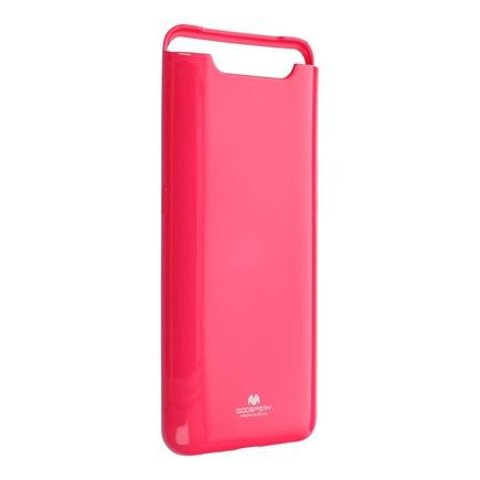 Pouzdro Jelly Mercury Samsung Galaxy A80 růžové