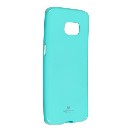Pouzdro Jelly Mercury Samsung Galaxy S7 Edge (SM-G935F) mátově zelené