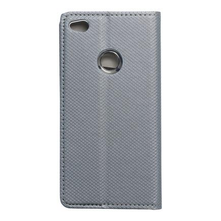 Pouzdro Smart Case book Huawei P8 Lite 2017 / P9 lite 2017 šedé