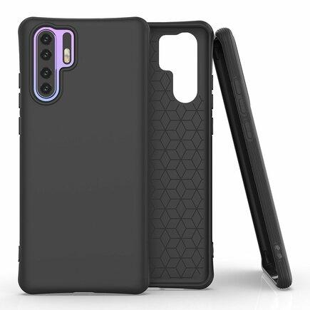 Soft Color Case elastické gelové pouzdro Huawei P30 Pro černé