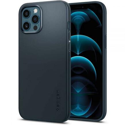 Spigen Pouzdro Thin Fit iPhone 12 Pro Max šedé