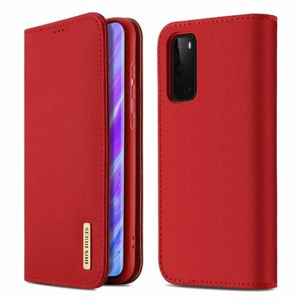 Wish kožené pouzdro Samsung Galaxy S20 červené