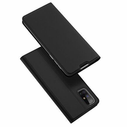 DUX DUCIS Skin Pro pouzdro s klapkou Samsung Galaxy M31s černé