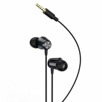 Encok H13 sluchátka 3.5mm mini jack s ovládáním černá (NGH13-01)