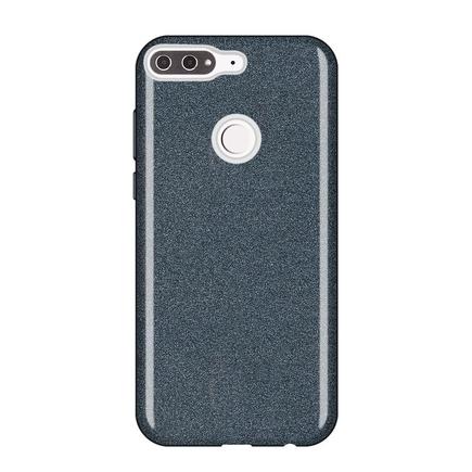 Glitter Case lesklé pouzdro s brokátem Huawei Y7 Prime 2018 černé