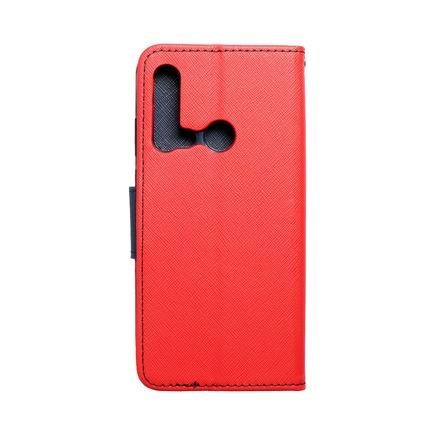 Pouzdro Fancy Book Huawei P20 Lite 2019 červené/tmavě modré