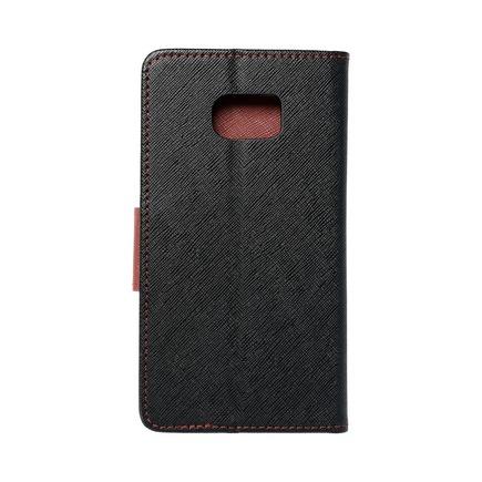 Pouzdro Fancy Book Samsung Galaxy S7 Edge (G935) černé/hnědé