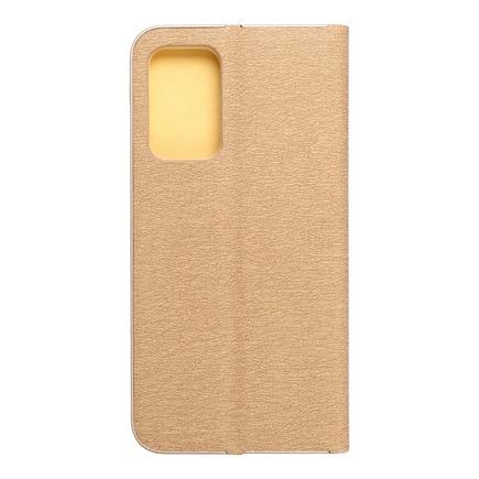 Pouzdro Forcell Luna Book Gold Samsung Galaxy A52 / A52 5G zlaté
