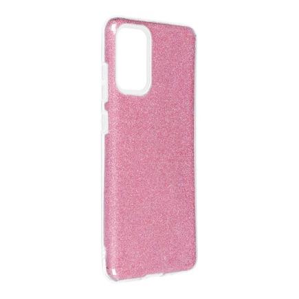 Pouzdro Shining Samsung Galaxy S20 Plus / S11 růžové