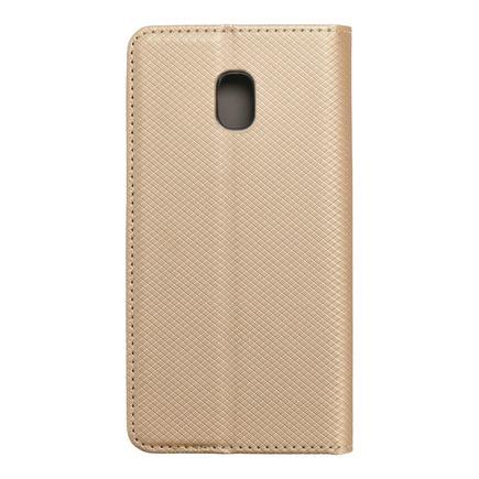 Pouzdro Smart Case book Samsung Galaxy J3 2017 zlaté