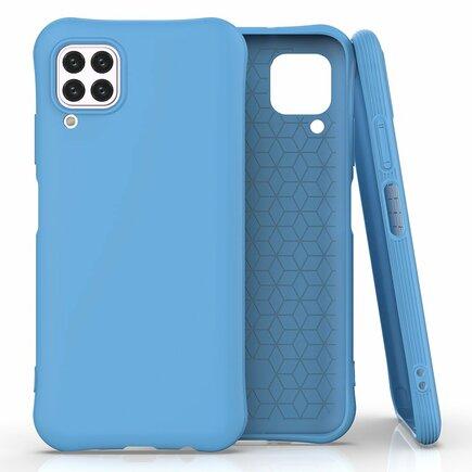 Soft Color Case elastické gelové pouzdro Huawei P40 Lite / Nova 7i / Nova 6 SE modré