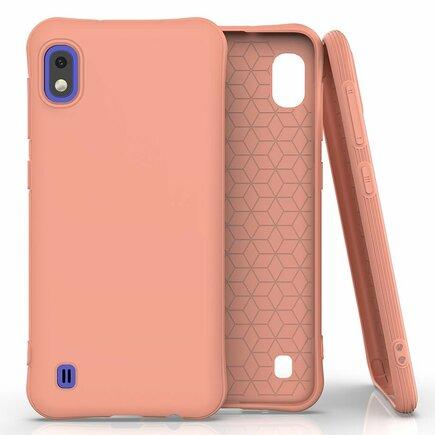 Soft Color Case elastické gelové pouzdro Samsung Galaxy A10 oranžové