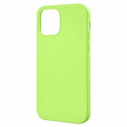 Tactical Velvet Smoothie Kryt pro Apple iPhone 13 Pro Max zelené