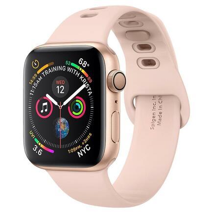 Řemínek Air Fit Band Apple Watch 1/2/3/4/5 (38/40MM) růžově-zlatý
