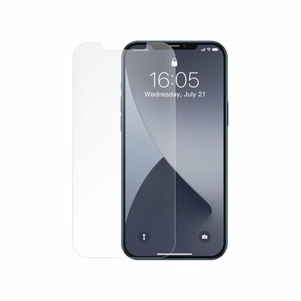 2x matné tvrzené sklo 0;25 mm iPhone 12 mini průsvitné (SGAPIPH54N-LM02)
