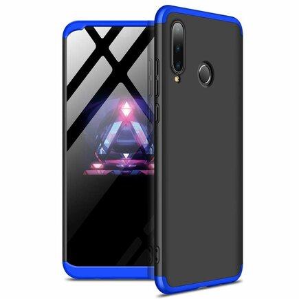 360 Protection Case pouzdro na přední i zadní část telefonu Huawei P30 Lite černo-modré