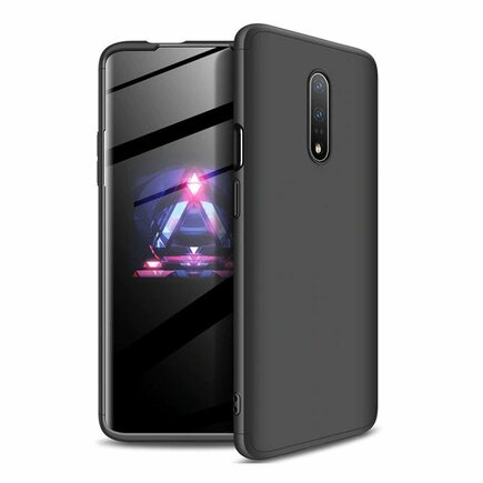 360 Protection Case pouzdro na přední i zadní část telefonu OnePlus 7 černé