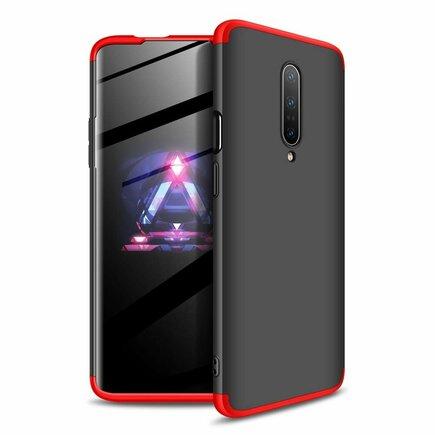 360 Protection Case pouzdro na přední i zadní část telefonu OnePlus 7 Pro černo/červené
