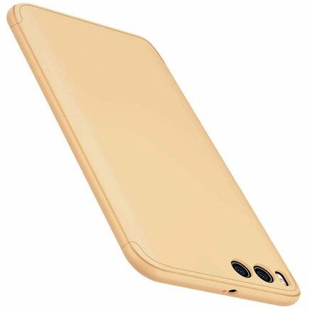 360 Protection Case pouzdro na přední i zadní část telefonu Xiaomi Mi 6 zlaté
