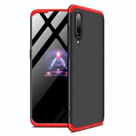 360 Protection Case pouzdro na přední i zadní část telefonu Xiaomi Mi 9 černo/červené