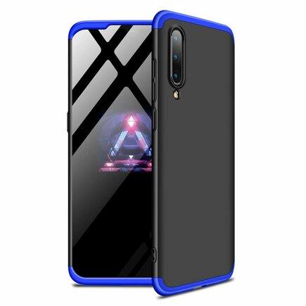 360 Protection Case pouzdro na přední i zadní část telefonu Xiaomi Mi 9 černo/modré
