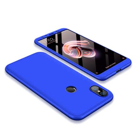 360 Protection Case pouzdro na přední i zadní část telefonu Xiaomi Mi A2 / Mi 6X modré