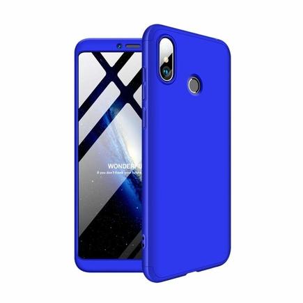 360 Protection Case pouzdro na přední i zadní část telefonu Xiaomi Mi Max 3 modré
