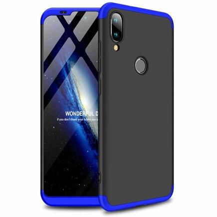 360 Protection Case pouzdro na přední i zadní část telefonu Xiaomi Mi Play černo/modré