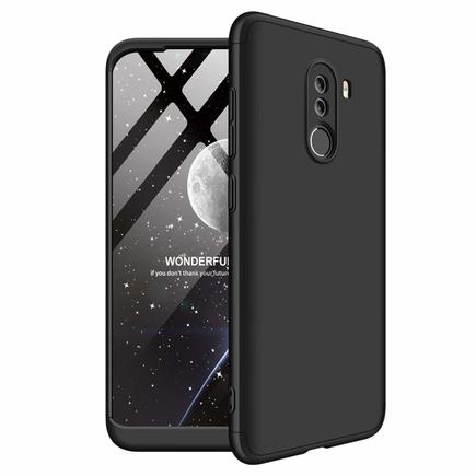 360 Protection Case pouzdro na přední i zadní část telefonu Xiaomi Pocophone F1 černé