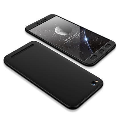 360 Protection Case pouzdro na přední i zadní část telefonu Xiaomi Redmi 5A černé