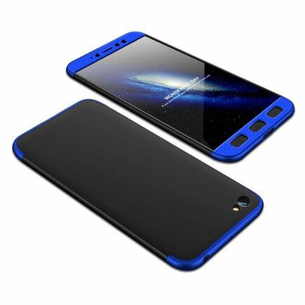 360 Protection Case pouzdro na přední i zadní část telefonu Xiaomi Redmi Note 5A černo/modré