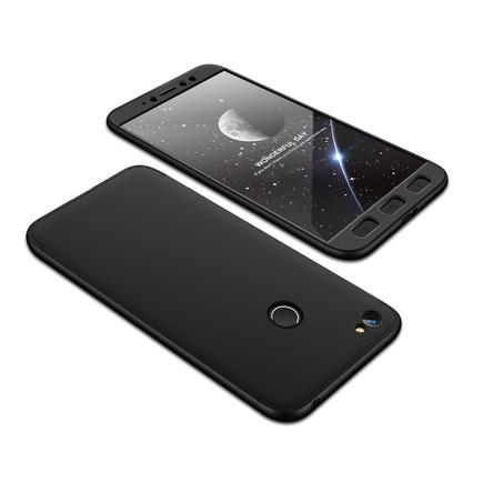 360 Protection Case pouzdro na přední i zadní část telefonu Xiaomi Redmi Note 5A Prime černé