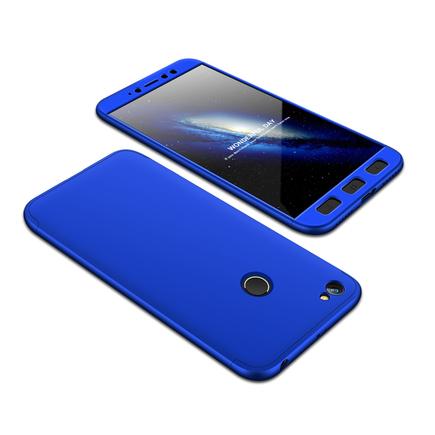 360 Protection Case pouzdro na přední i zadní část telefonu Xiaomi Redmi Note 5A Prime modré