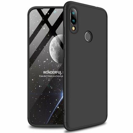 360 Protection Case pouzdro na přední i zadní část telefonu Xiaomi Redmi Note 7 černé