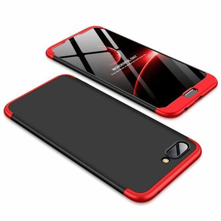 360 Protection pouzdro na přední i zadní část telefonu Huawei Honor 10 černo-červené