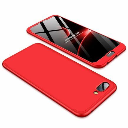 360 Protection pouzdro na přední i zadní část telefonu Huawei Honor 10 červené