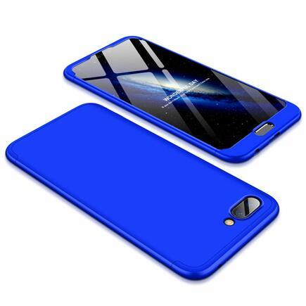 360 Protection pouzdro na přední i zadní část telefonu Huawei Honor 10 modré