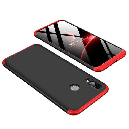 360 Protection pouzdro na přední i zadní část telefonu Huawei Honor Play černo-červené