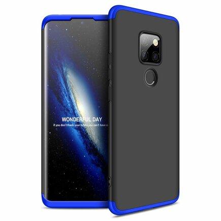 360 Protection pouzdro na přední i zadní část telefonu Huawei Mate 20 černo-modré