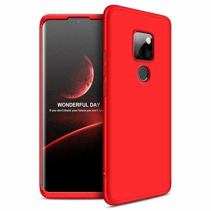 360 Protection pouzdro na přední i zadní část telefonu Huawei Mate 20 červené