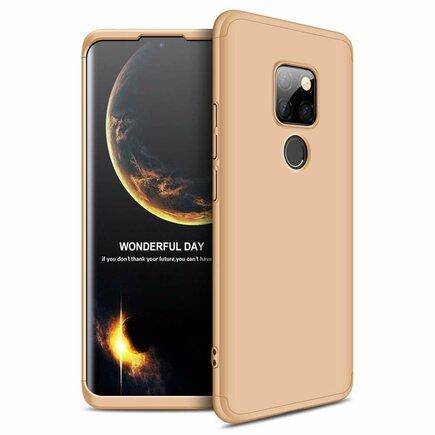 360 Protection pouzdro na přední i zadní část telefonu Huawei Mate 20 zlaté