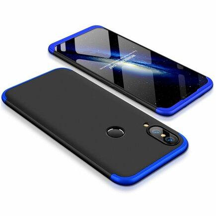 360 Protection pouzdro na přední i zadní část telefonu Huawei P20 Lite černo-modré