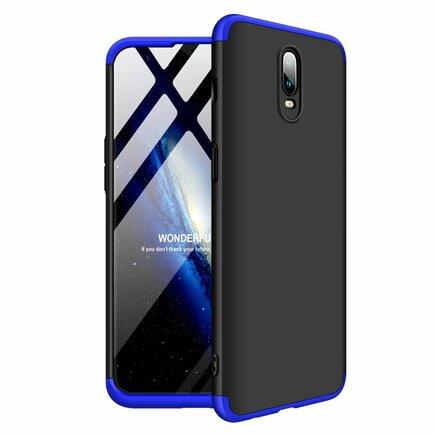 360 Protection pouzdro na přední i zadní část telefonu OnePlus 6T černo-modré
