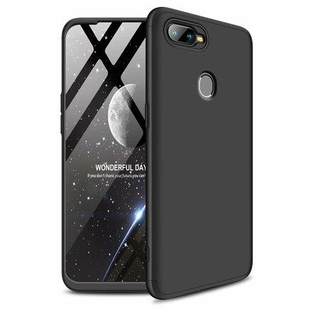 360 Protection pouzdro na přední i zadní část telefonu Oppo AX7 černé