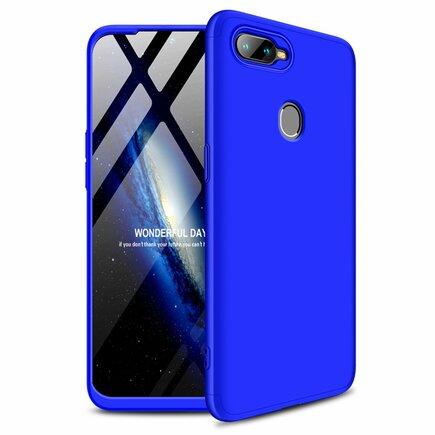 360 Protection pouzdro na přední i zadní část telefonu Oppo AX7 modré