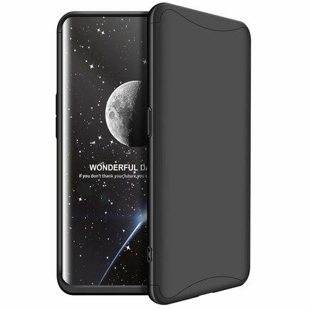 360 Protection pouzdro na přední i zadní část telefonu Oppo Find X černé