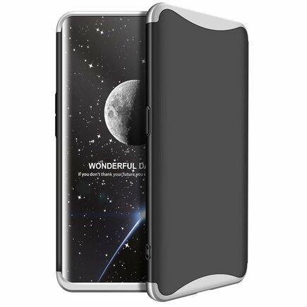 360 Protection pouzdro na přední i zadní část telefonu Oppo Find X stříbrné