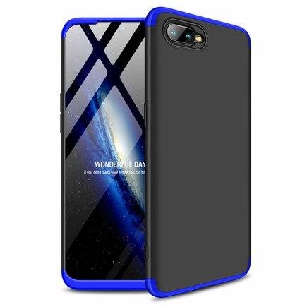 360 Protection pouzdro na přední i zadní část telefonu Oppo RX17 Neo černo-modré