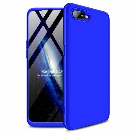 360 Protection pouzdro na přední i zadní část telefonu Oppo RX17 Neo modré