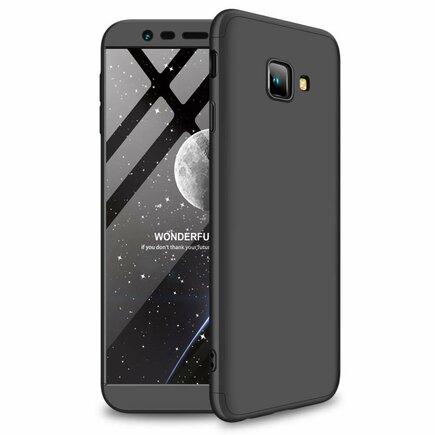 360 Protection pouzdro na přední i zadní část telefonu Samsung Galaxy J4 Plus 2018 J415 černé